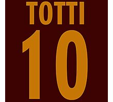 Totti 10 Photographic Print