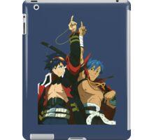 Simon and Kamina Brothers Anime Manga Shirt iPad Case/Skin