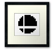 8-Bit Smash Ball Framed Print