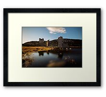 Three Castle Head Framed Print