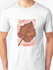 Autumnal Red Unisex T-Shirt