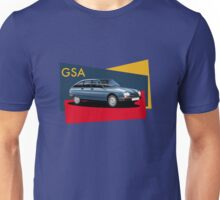 T-shirt Car Art - Citroen GSA Unisex T-Shirt