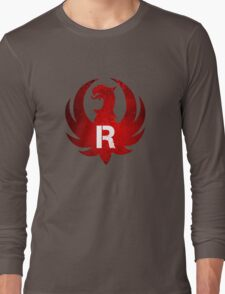 Red Ruger Firearms Long Sleeve T-Shirt