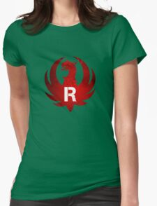 Red Ruger Firearms Womens Fitted T-Shirt