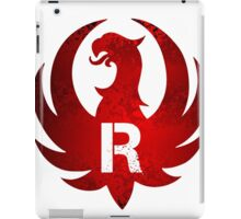 Red Ruger Firearms iPad Case/Skin