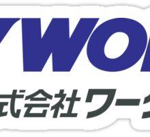 Work Wheels - JDM Sticker