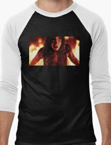 Carrie Moretz Men's Baseball ¾ T-Shirt