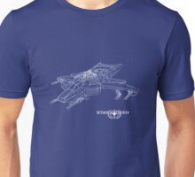 Star Citizen Hornet Blueprints Unisex T-Shirt