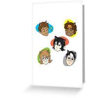 voltron cats - voltron legendary defender Greeting Card