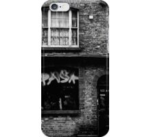 Brick Lane facade 1 iPhone Case/Skin