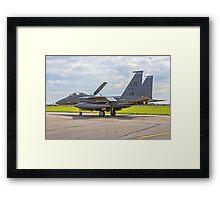 F-15E Strike Eagle 97-0221/LN Framed Print