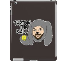 Throw the ball. iPad Case/Skin