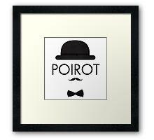 Poirot Framed Print