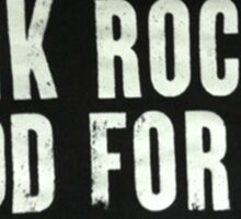 Punk Rock Sticker