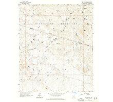 USGS TOPO Map Arizona AZ Red Picacho 313061 1964 24000 Photographic Print
