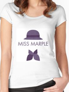 Miss Marple Women's Fitted Scoop T-Shirt