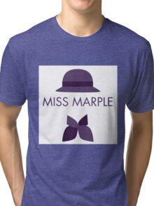 Miss Marple Tri-blend T-Shirt
