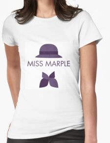 Miss Marple Womens Fitted T-Shirt