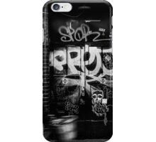 Brick Lane Biker iPhone Case/Skin