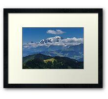 Majestic Mont-Blanc Framed Print