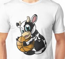 Cow B-ball Unisex T-Shirt