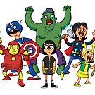 Bob's Avengers by striffle