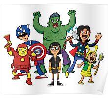 Bob's Avengers Poster