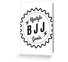 BJJ lifestyle goods Greeting Card