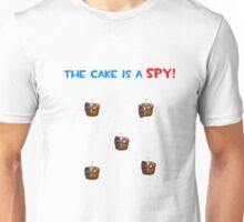 The Cake is a Spy Unisex T-Shirt