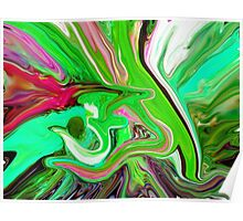 al rehman abstract painting Poster
