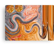 al mughni abstract painting Canvas Print