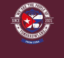 People of Tomorrowland country Flags logo Badge - Cuba - cubano - Cubain - Cuban - Caraïbes - Havane Unisex T-Shirt