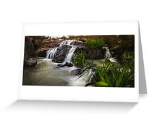 A waterfall without a name Greeting Card