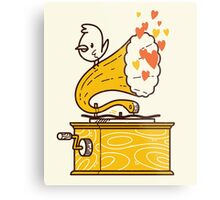 Phonograph and the Bird Metal Print