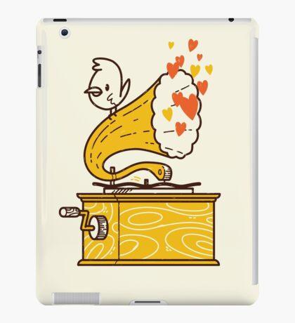 Phonograph and the Bird iPad Case/Skin