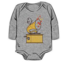 Phonograph and the Bird One Piece - Long Sleeve