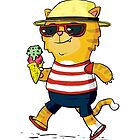 Summer Kitty by striffle