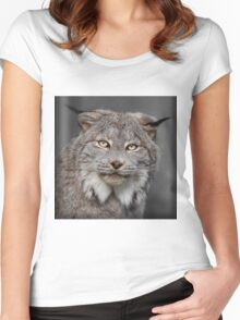 Canada Lynx Women's Fitted Scoop T-Shirt