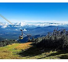 Cannon Mountain's Aerial Tramway  Photographic Print