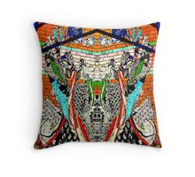 Art on the Walls Throw Pillow