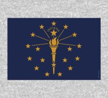 Indiana State Flag  by USAswagg