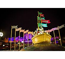 It's A Small World Christmas (Disneyland Paris) Photographic Print