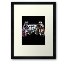 GTA stick Framed Print