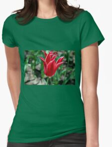 Spring Lingers Womens Fitted T-Shirt