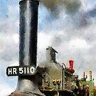 Little Lauren, steam traction engine by buttonpresser