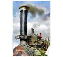 Little Lauren, steam traction engine Poster