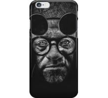 Immersed in lonliness im running away from responsibility and pain iPhone Case/Skin