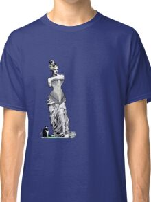 Goddess of love in corset Classic T-Shirt