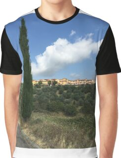 An August House Sit in Tuscany Graphic T-Shirt
