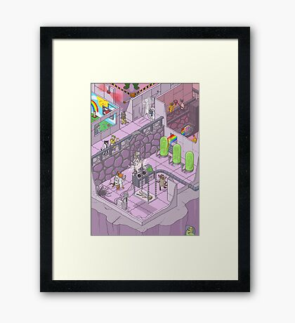 Funny Point of View -Jimmy Carr Framed Print